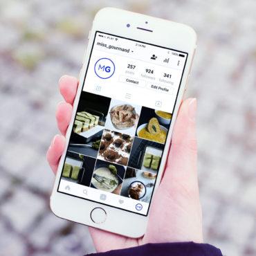 Instagram para blogs de cocina