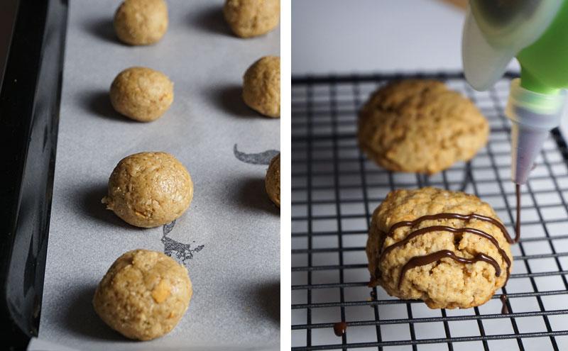 Paso a paso como hacer galletas de avena