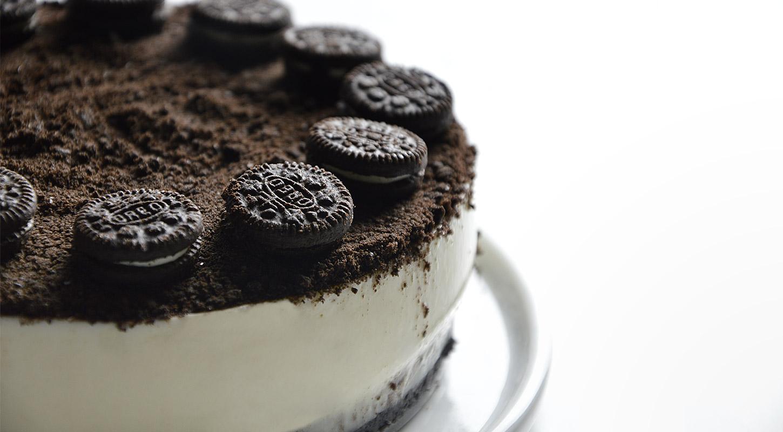 Tarta cheesecake de Oreo