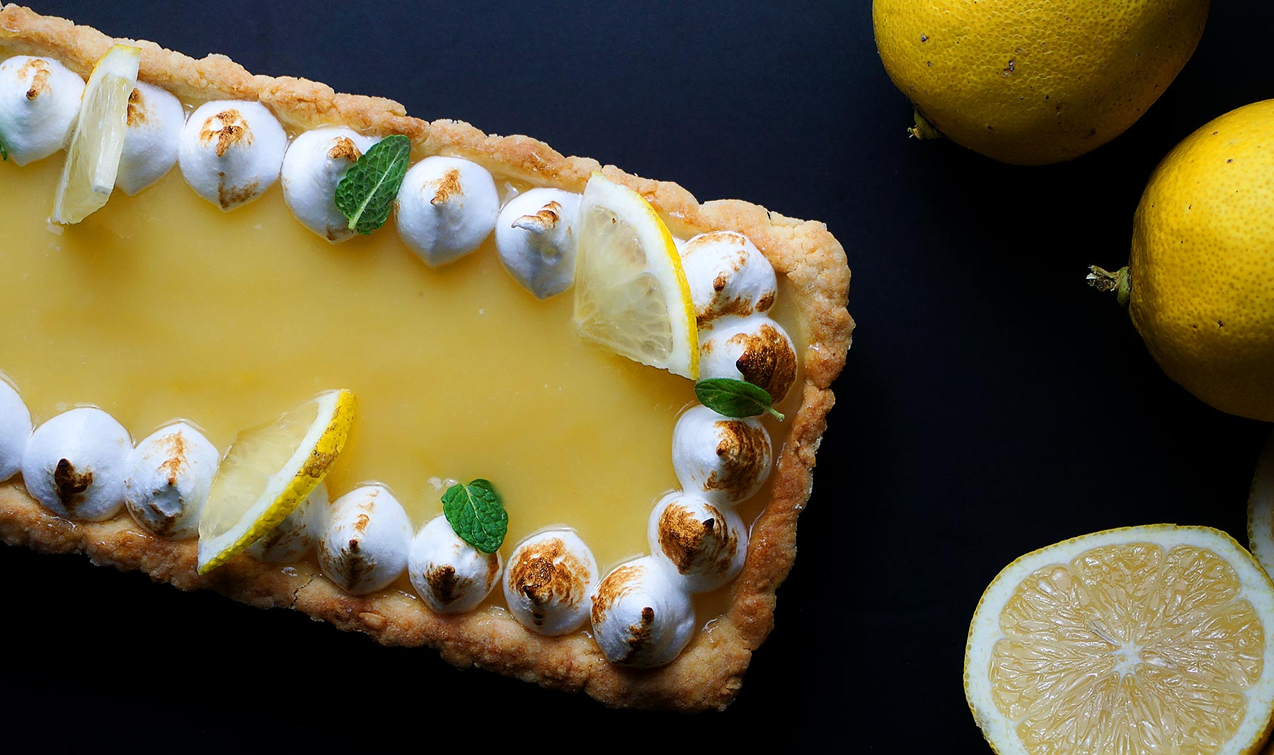 Tarta de limón y merengue (<em>Lemon Pie</em>)