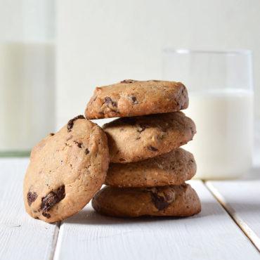 Cookies de chocolate, receta americana