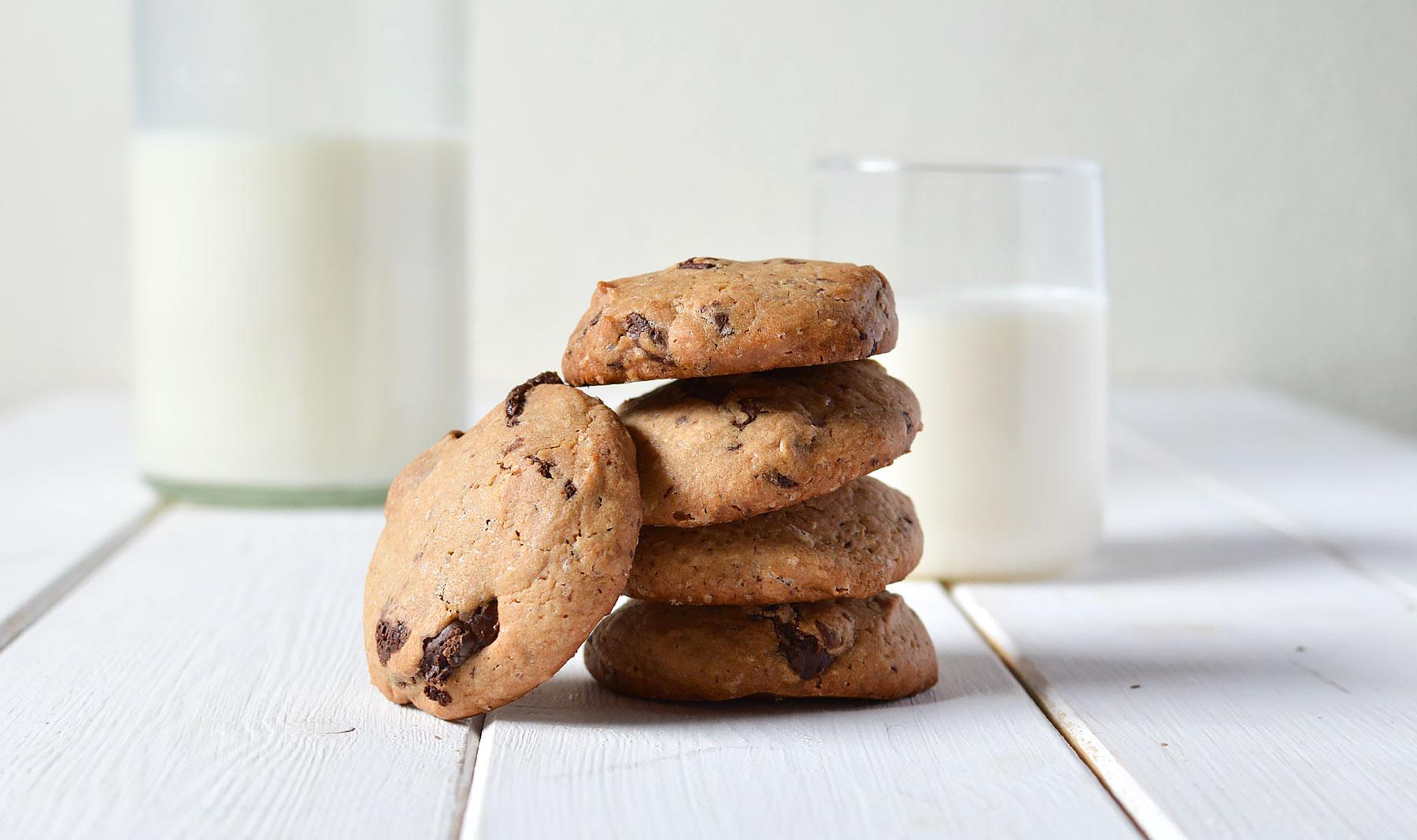 Las auténticas cookies de chocolate al estilo americano