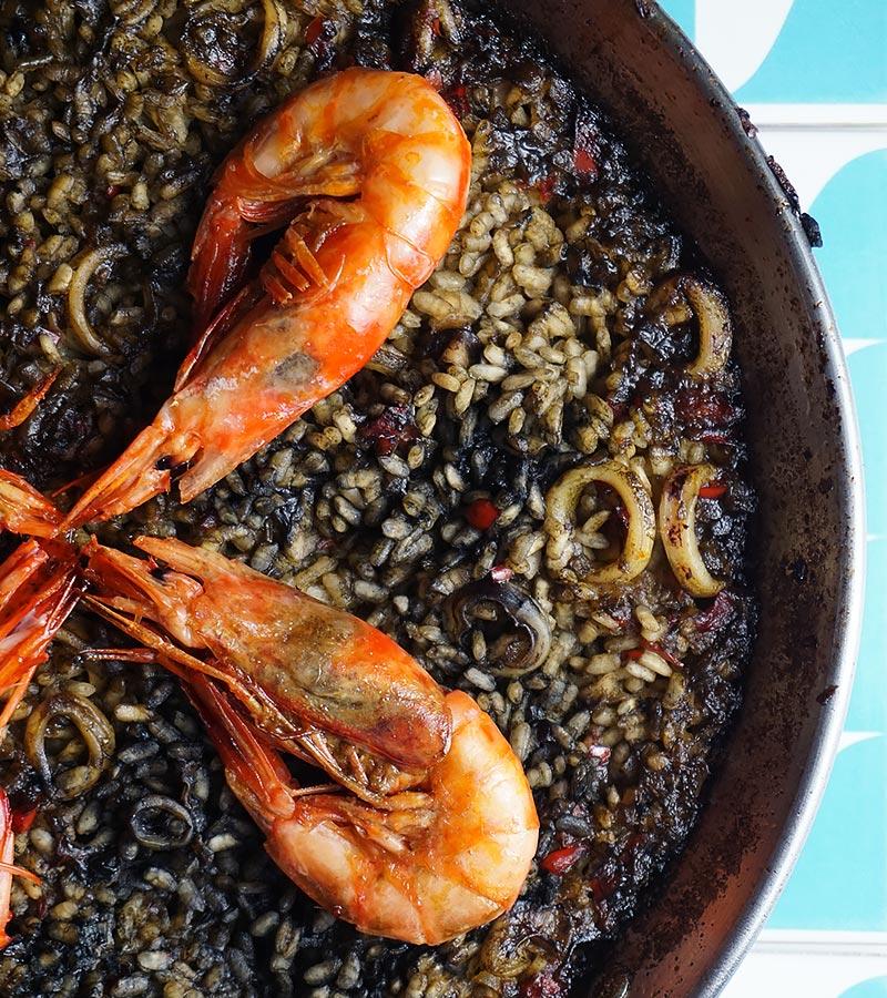 Receta para hacer un buen arroz negro