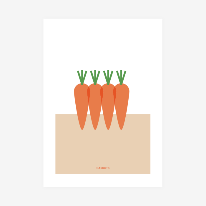 Póster Carrots