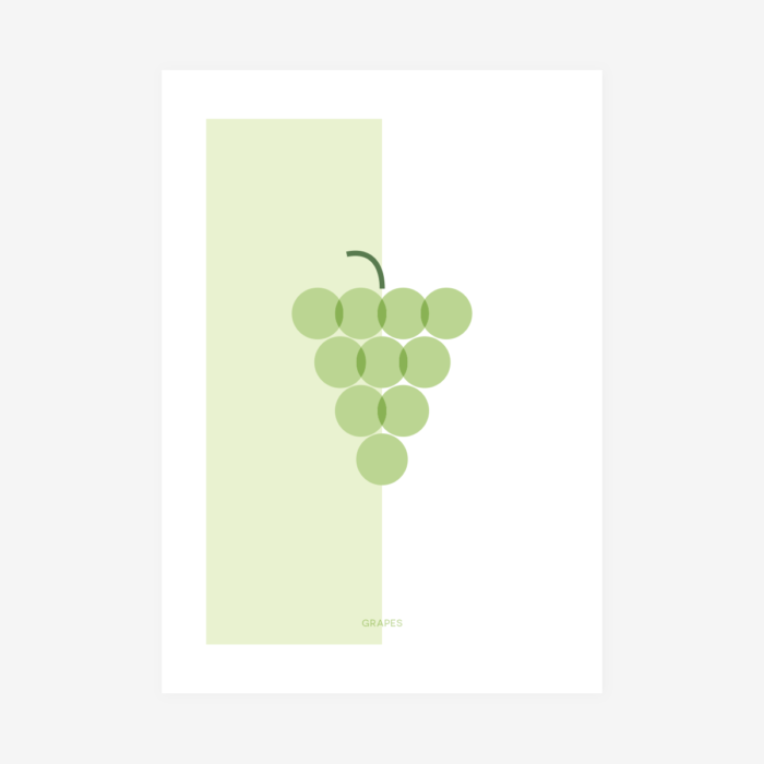 Póster Grapes