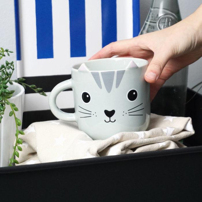 Taza gato de la colección Kawaii