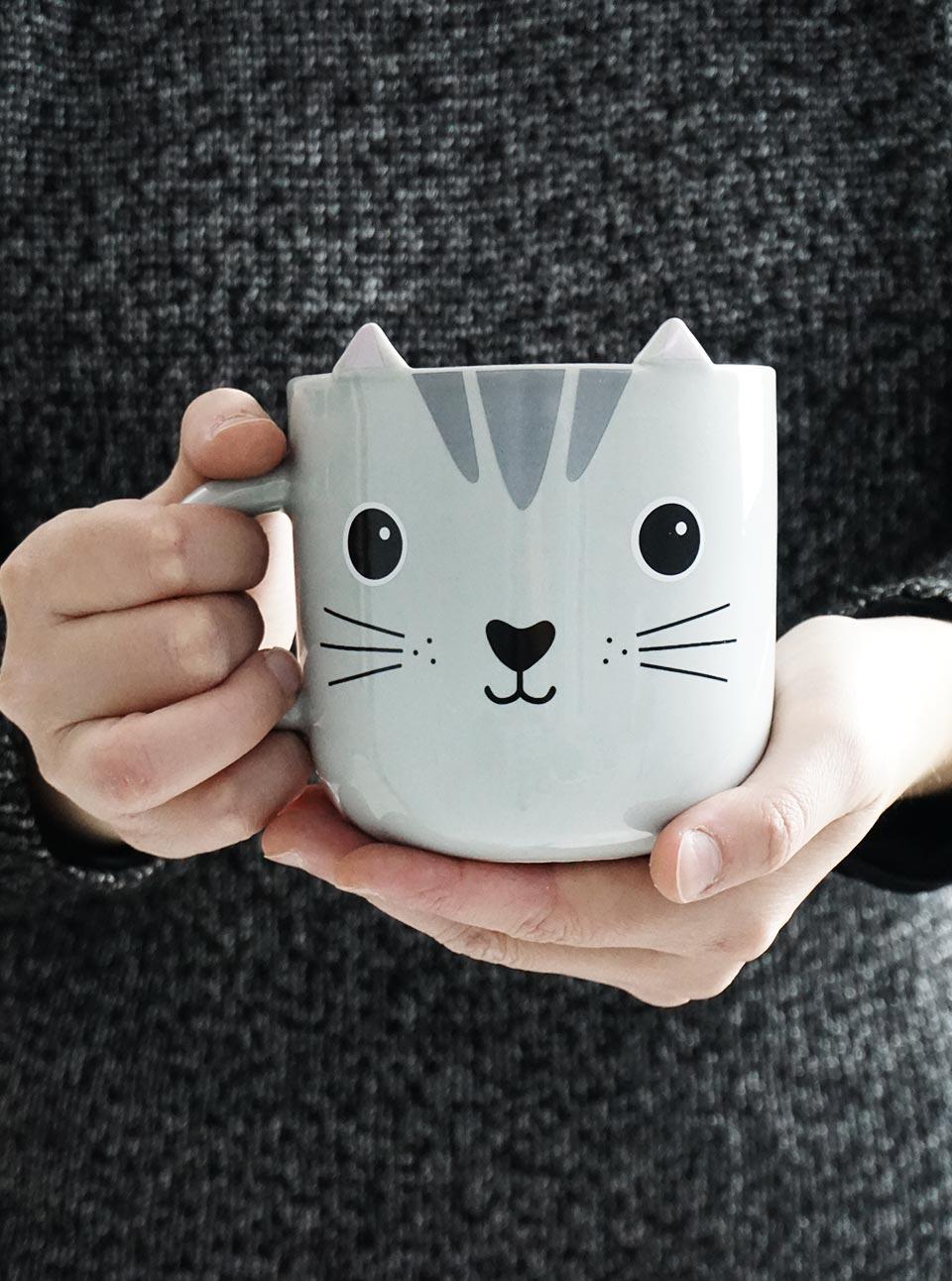 Taza de gato