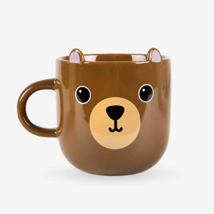 Taza oso Momo vista frontal
