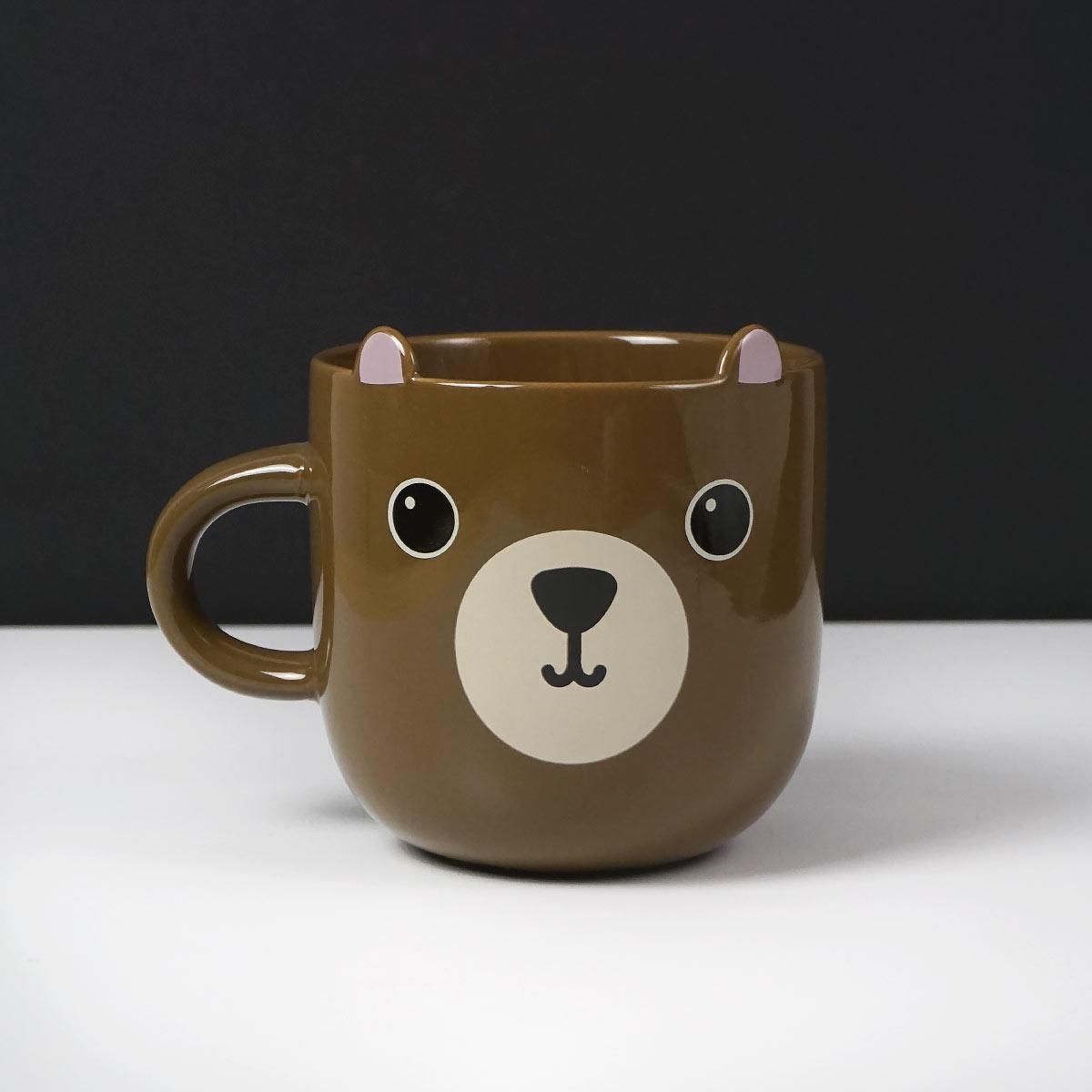 Taza oso marrón