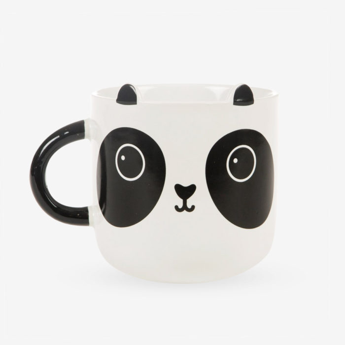 Taza panda Aiko vista frontal