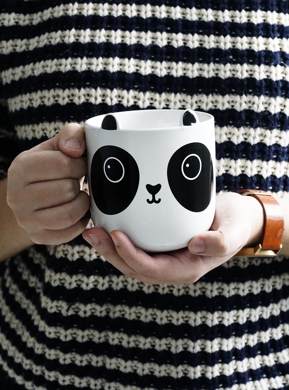 Taza panda, un regalo original