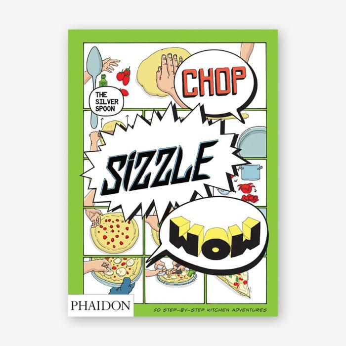 Libro en inglés Chop, sizzle, wow