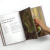 Libro con recetas como el curry de setas