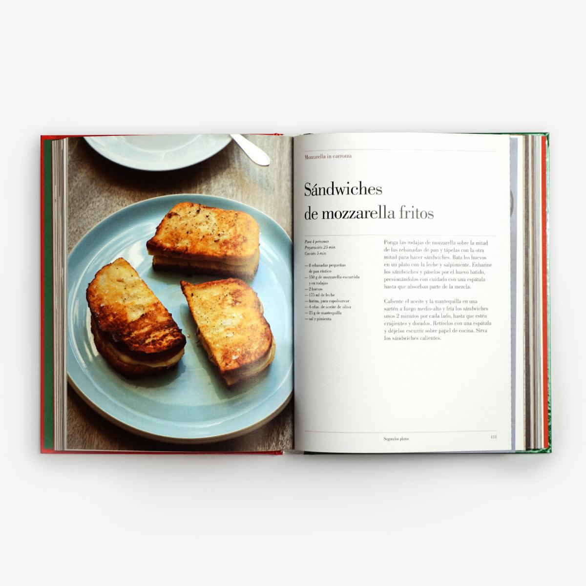 Interior libro recetas italianas