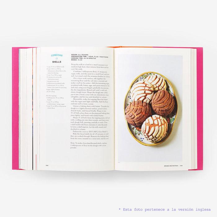 Interior del libro México Gastronomía
