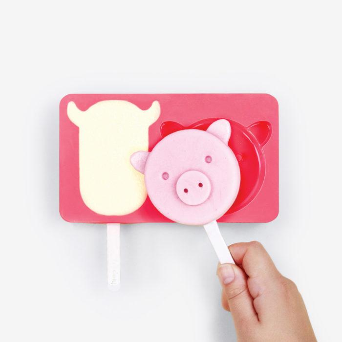 Moldes para helados Farm Pops