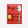 Portada Rápidas y sencillas recetas italianas