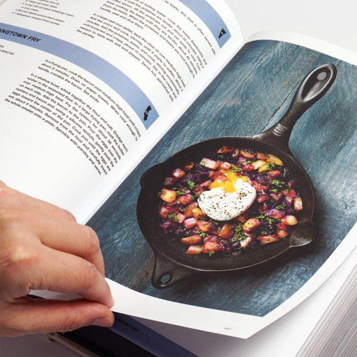Receta de huevos en America The Cookbook