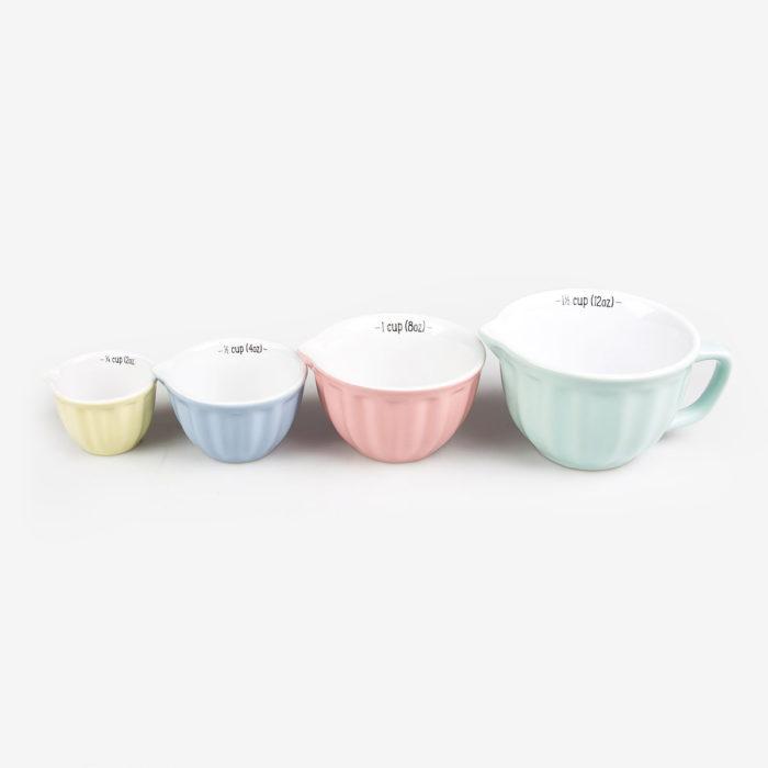 Set de 4 tazas medidoras de cups