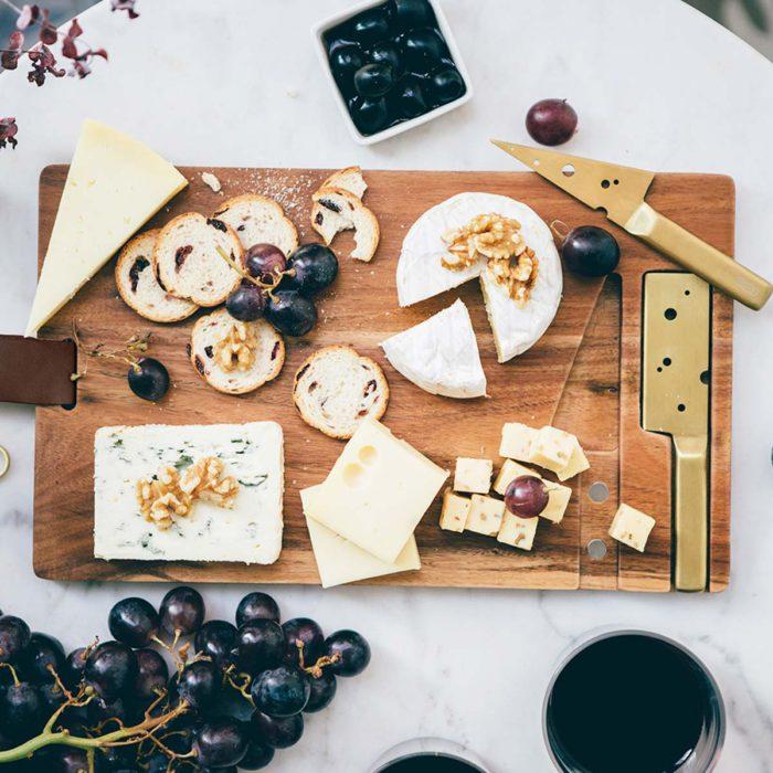 Tabla con quesos de DOIY