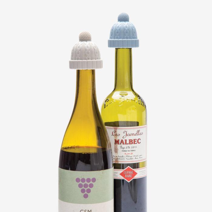 Tapones de botella en forma de gorro